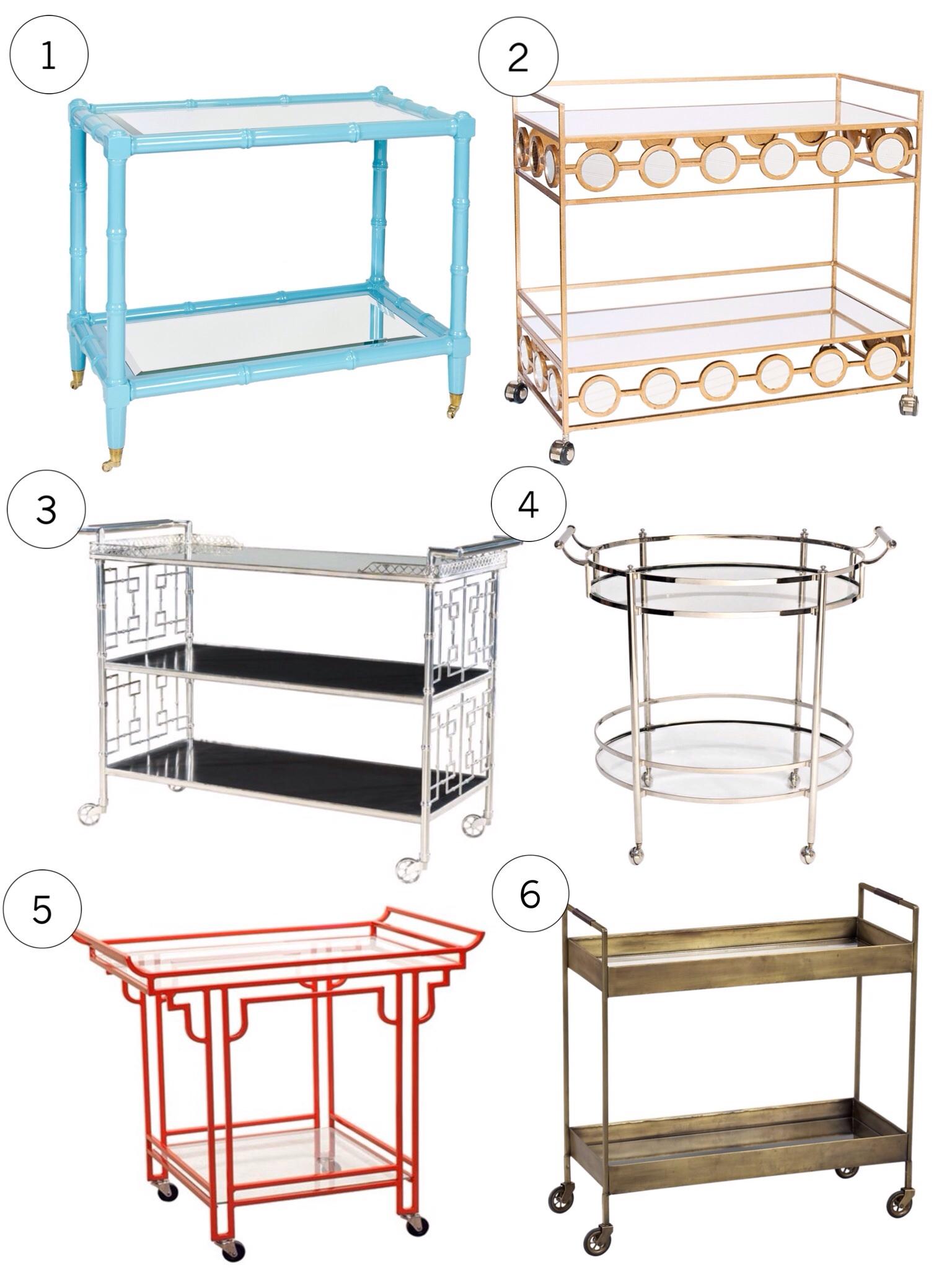 Lauren M. Creative Blog - Bar Cart Craze
