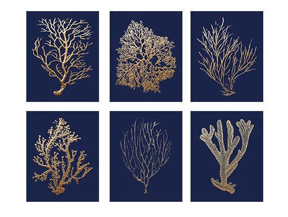 Lauren M. Creative Blog - Navy and Gold