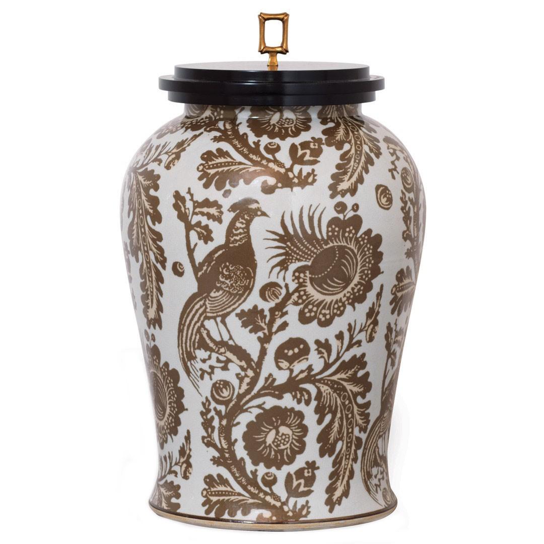 ScalamandreMaison Arcadia Jar from  Layla Grayce