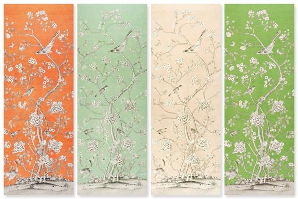 Schumacher Fabrics - Chinois Palais by Mary McDonald