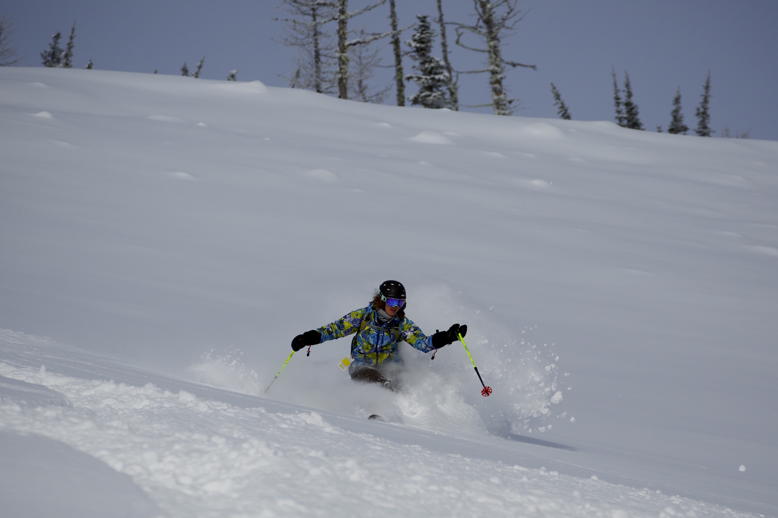 Cindy Luntley is an active outdoor enthusiast, equally at home on skis, on a bike or hiking in the mountains