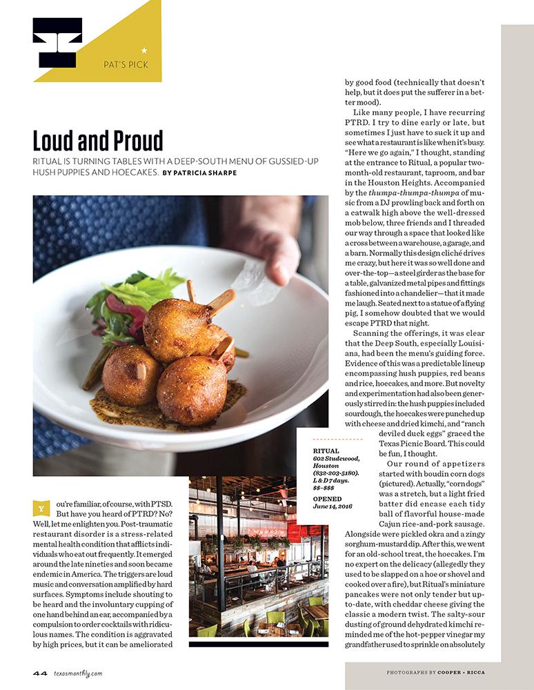 Texas Monthly September 2016