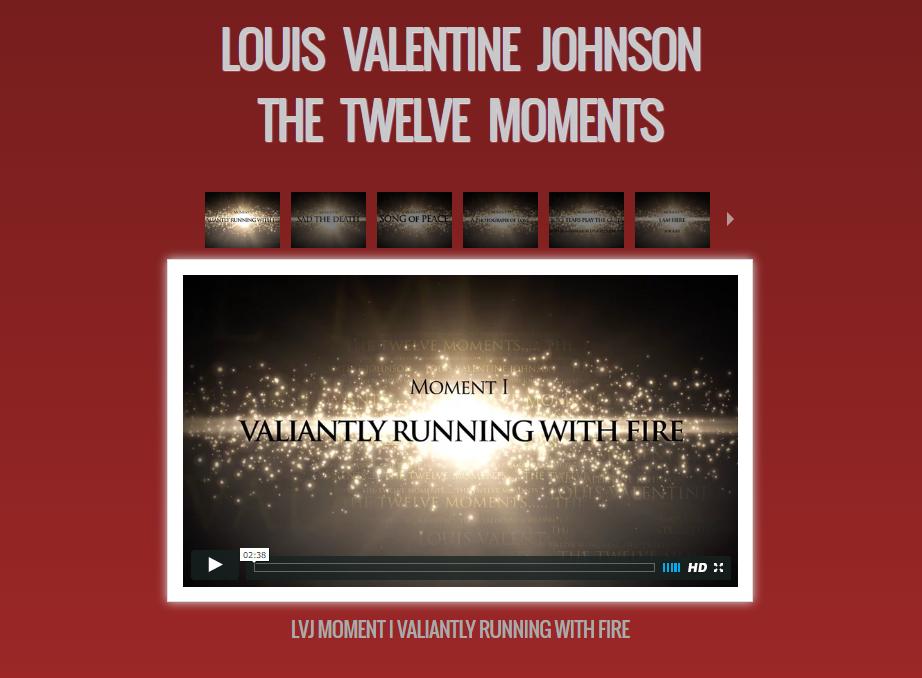 Louis Valentine Johnson - The Twelve Moments