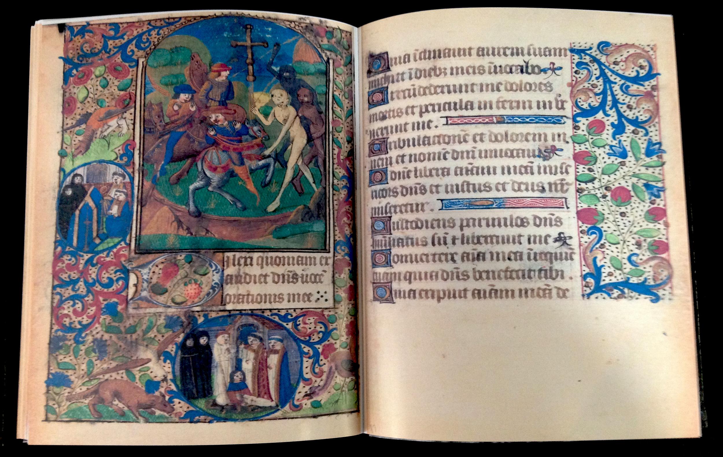 CATHOLIC CHURCH Facsimile BOOK OF HOURS USE OF ORLÉANS 1490