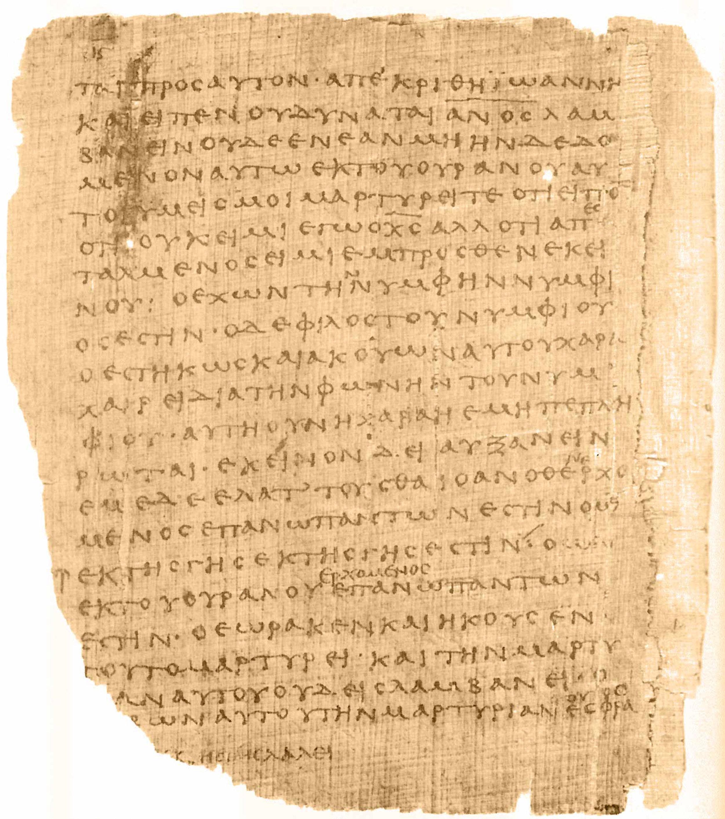 - P 66 Manuscript
