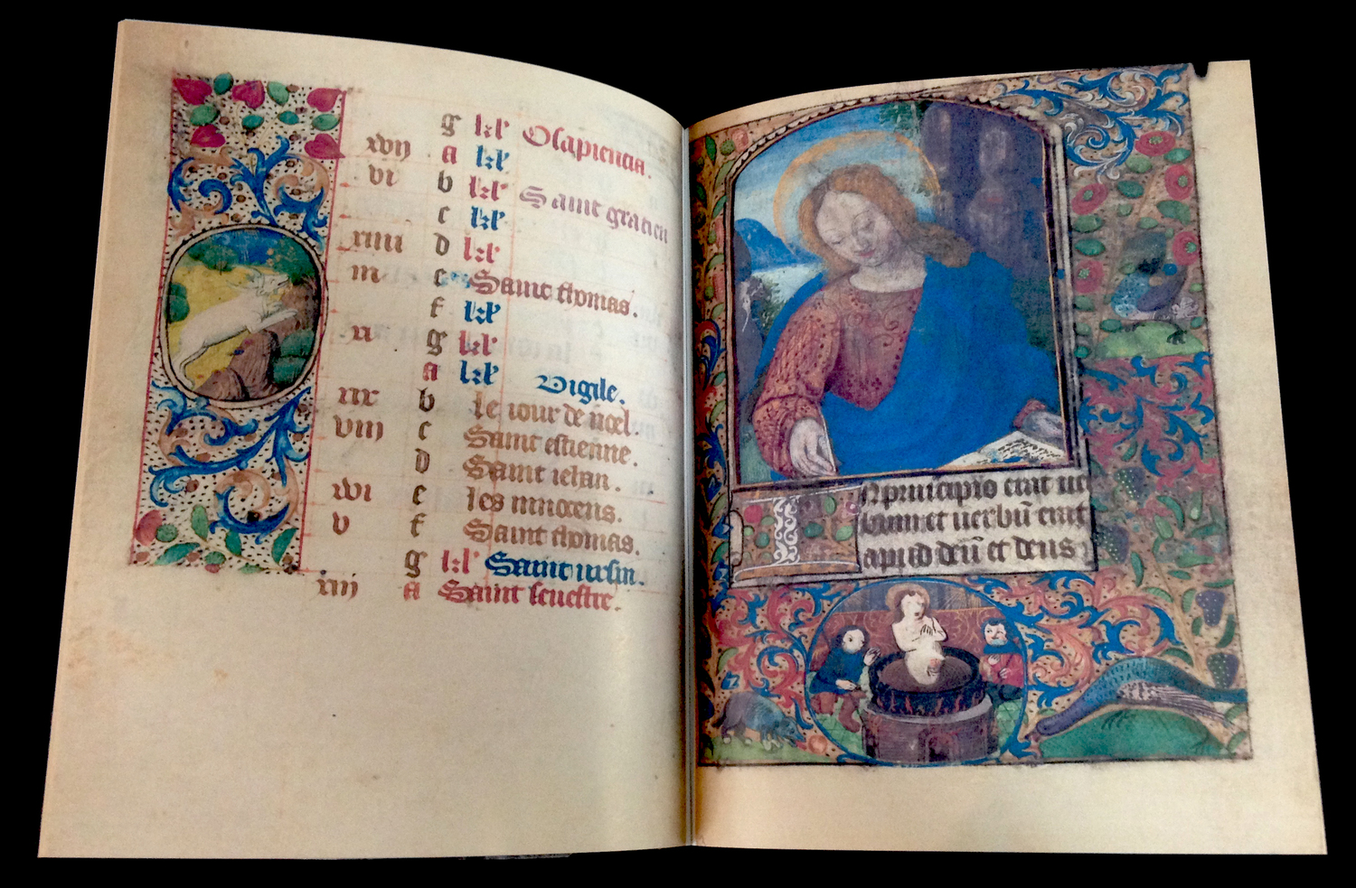 BOOK OF HOURS USE OF ORLÉANS, 1490
