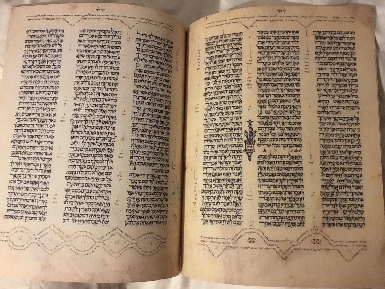 Hebrew Bible, 1300 AD