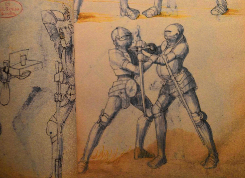 Fencing Book 1550 AD Facsimile