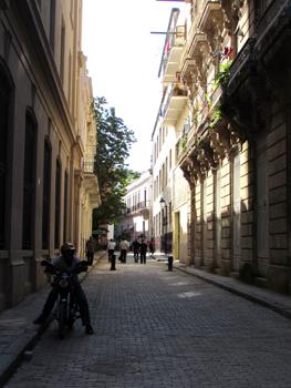 A view down a random street in Havana