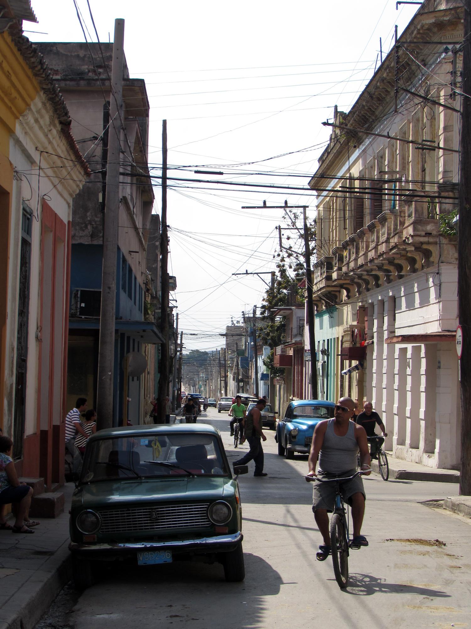 A street in Santa Clara