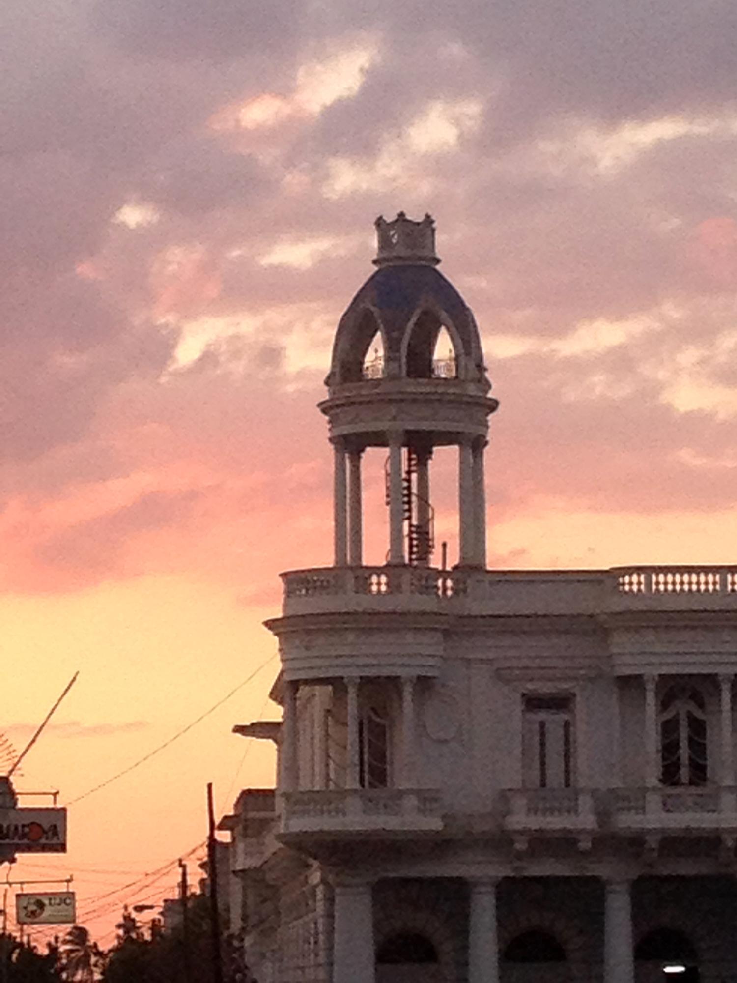 Sunset in Cienfuegos
