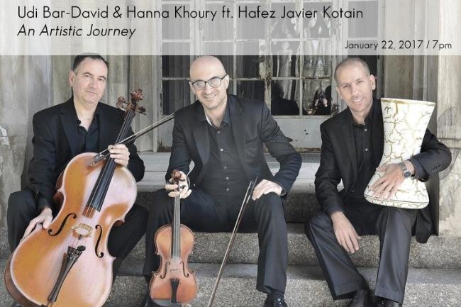 Udi Bar-David, Hanna Khoury, and Hafez Kotain.