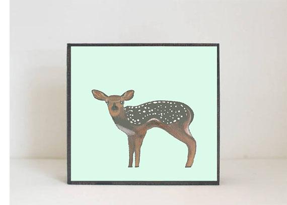 Deer Side View