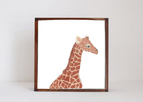 Giraffe Side View