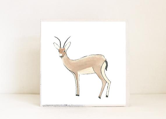 Gazelle Side View