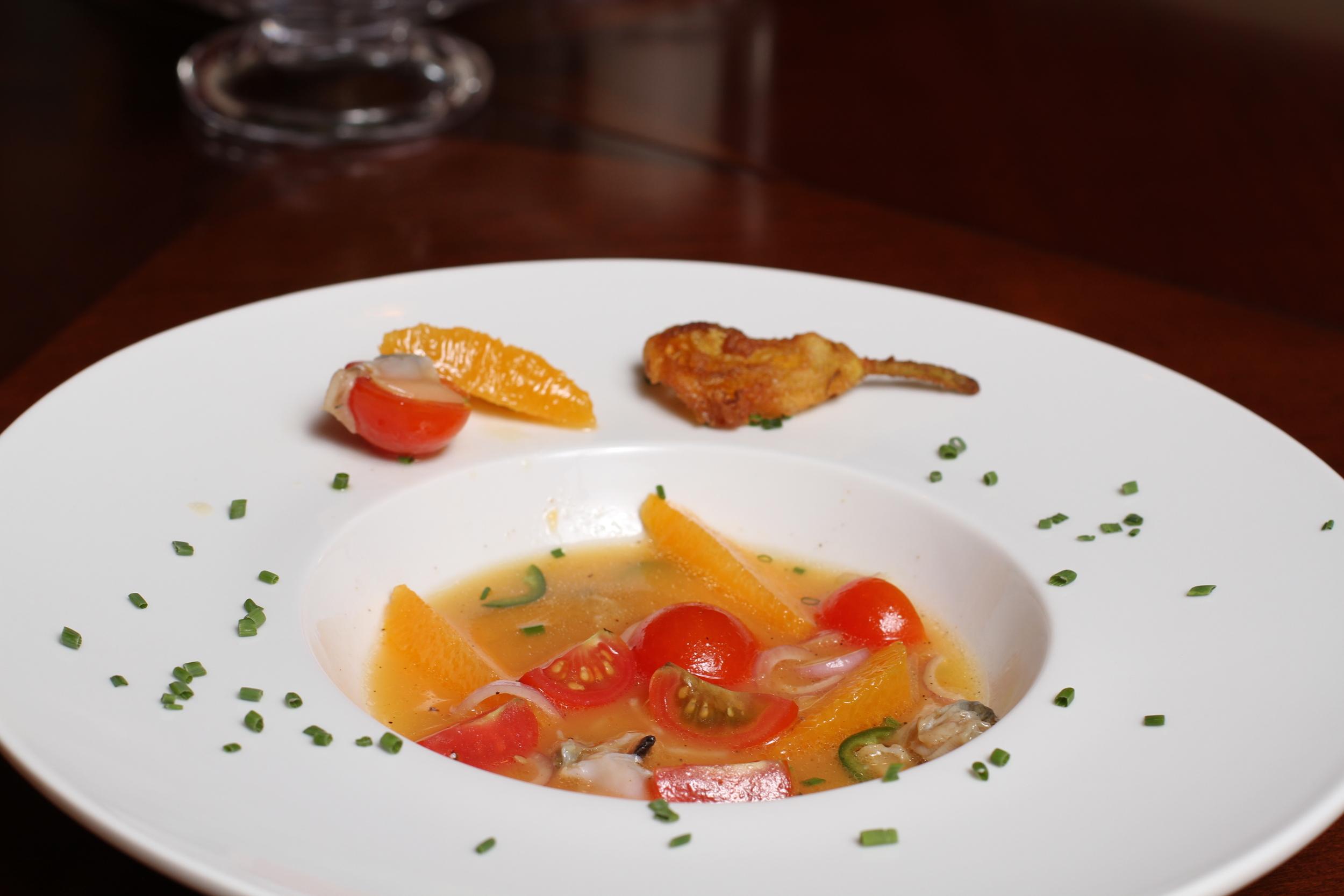 littleneck clam ceviche
