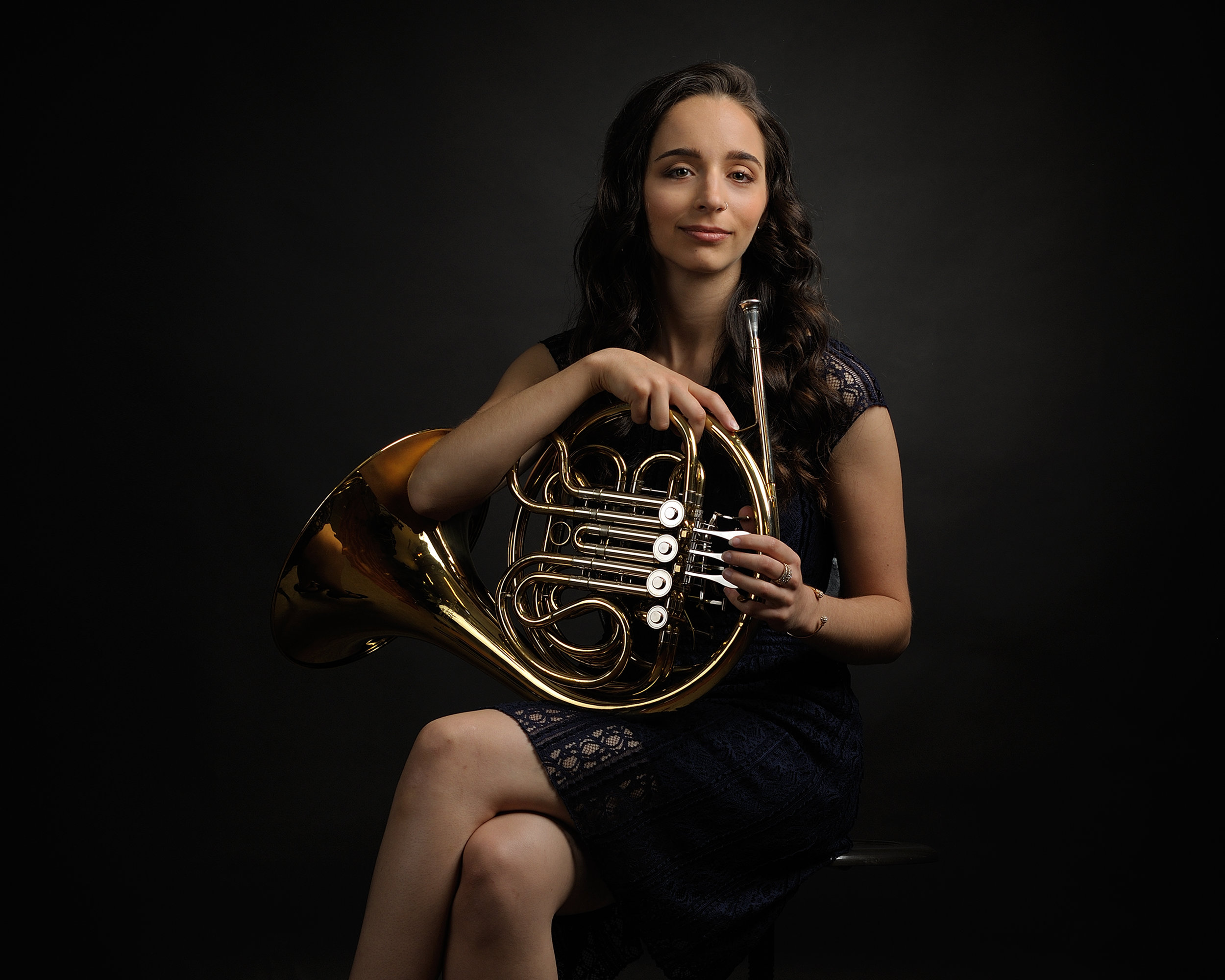 French Horn Portrait 2017