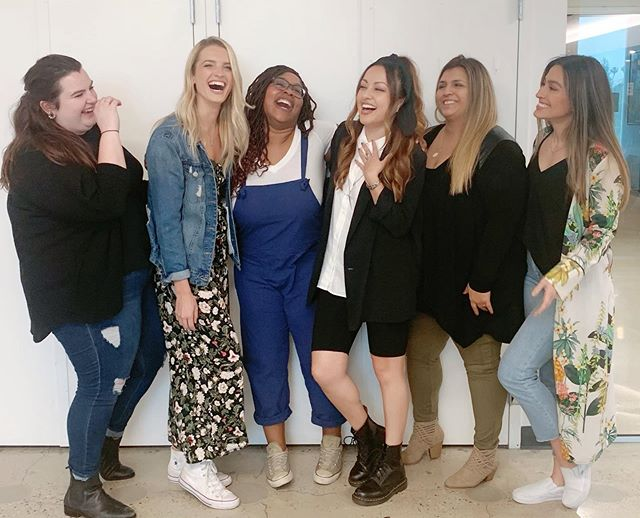 It takes a village and I love this village, specifically these ladies @lillypad1986 @lo.wicki @funmisunmonu @sterlingcates @colleenjones02! We did it! . . . #ladygang #ladygangtv #producer #womenempowerwomen #wedidit