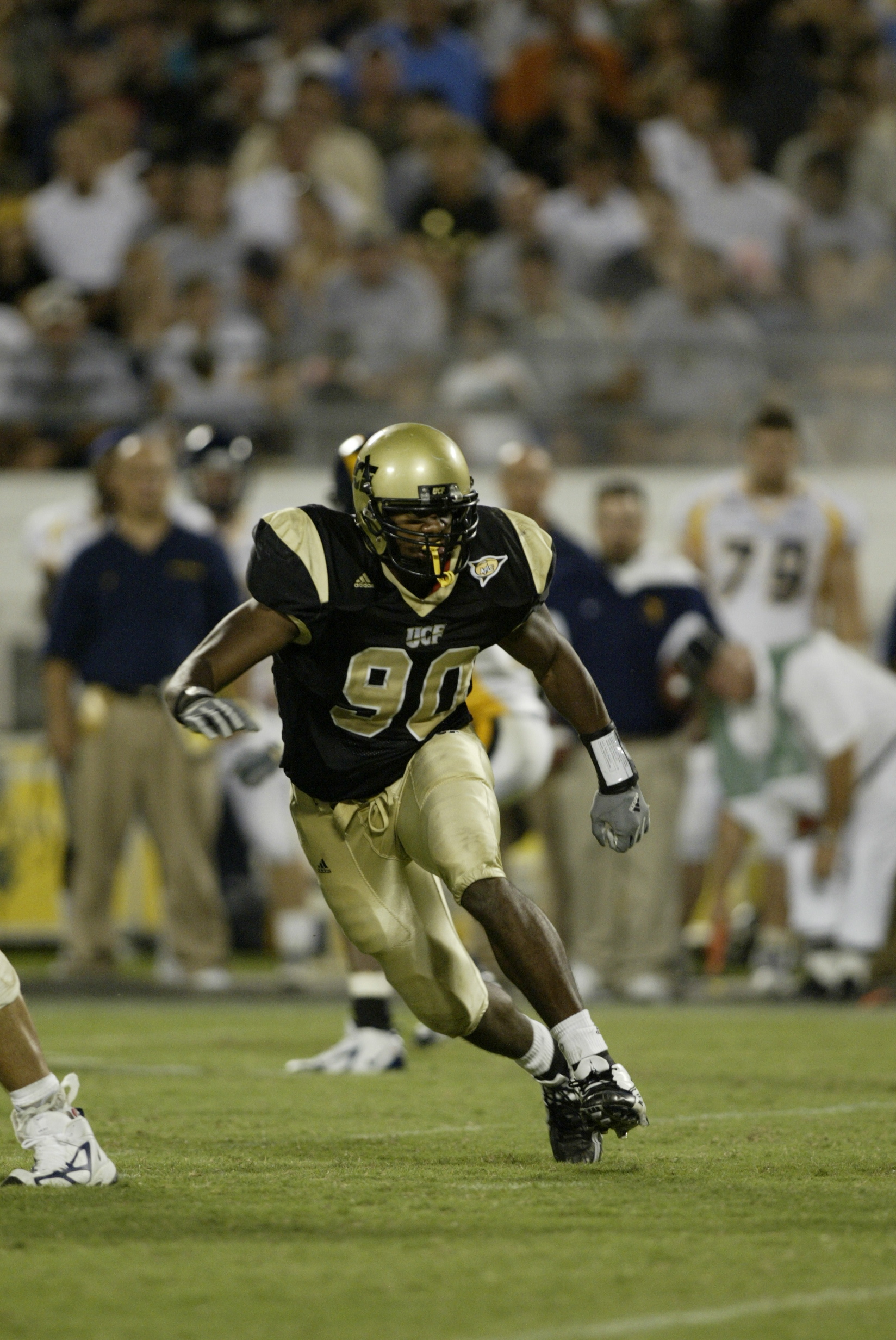 September 11th 2004 University of Central Florida Defensive End