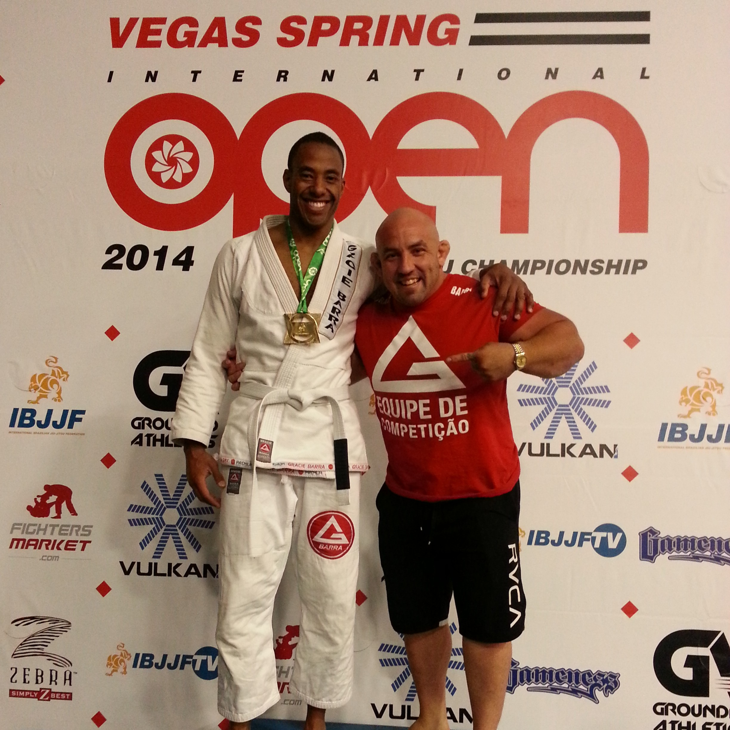 Las Vegas Spring Open May 2014 Super Heavy division 1st place, Professor Orlando and I
