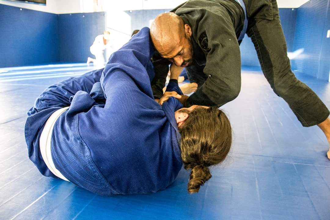 Training at BJJ School