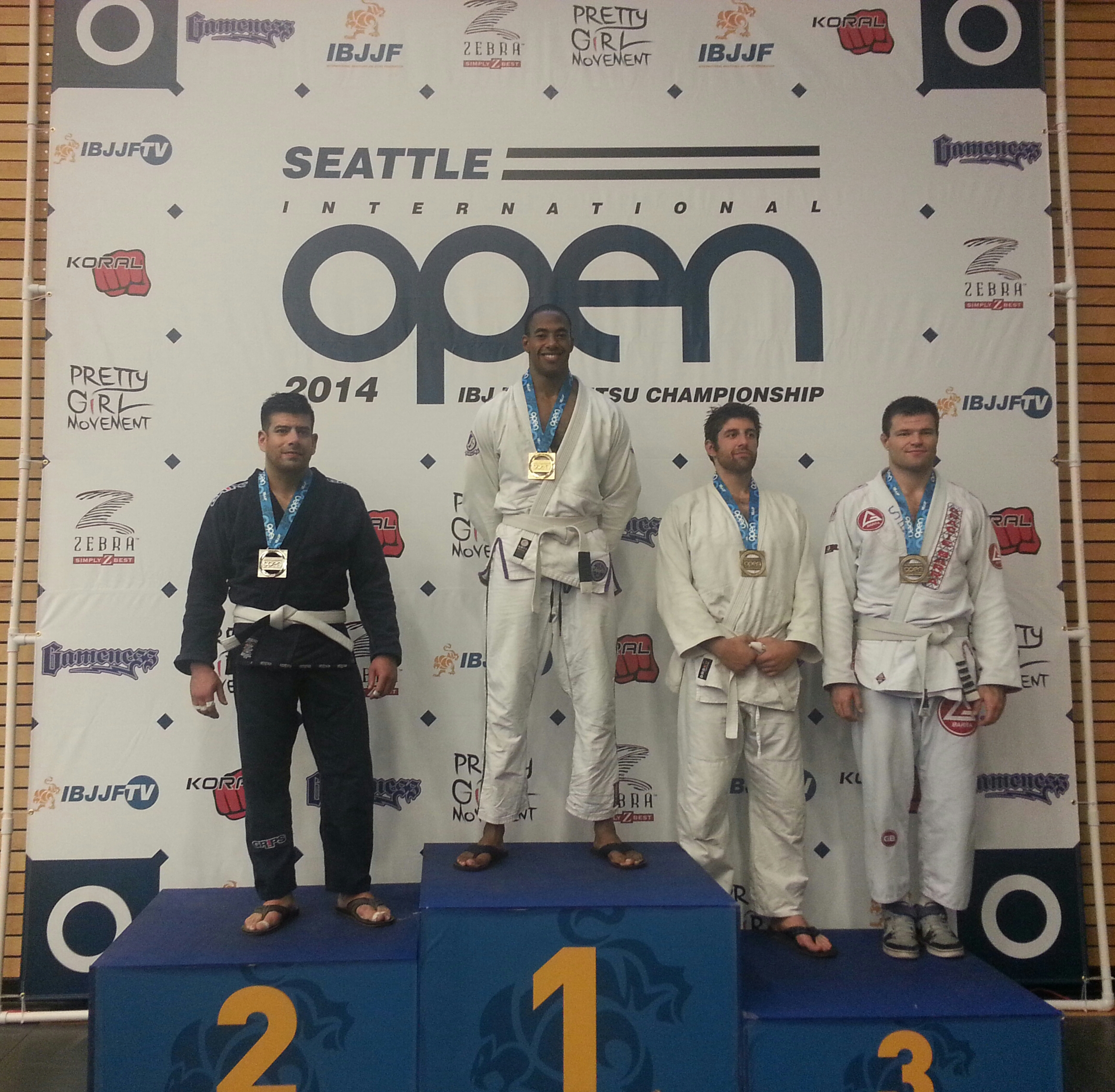 Inaugural Seattle Open Champion 2014