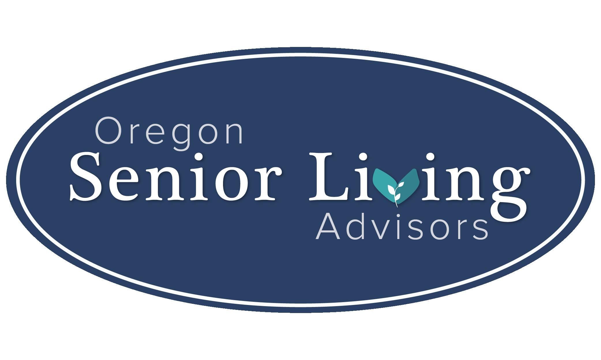 Oregon Senior Living Advisors, Main Logo Design by Brightly and Co