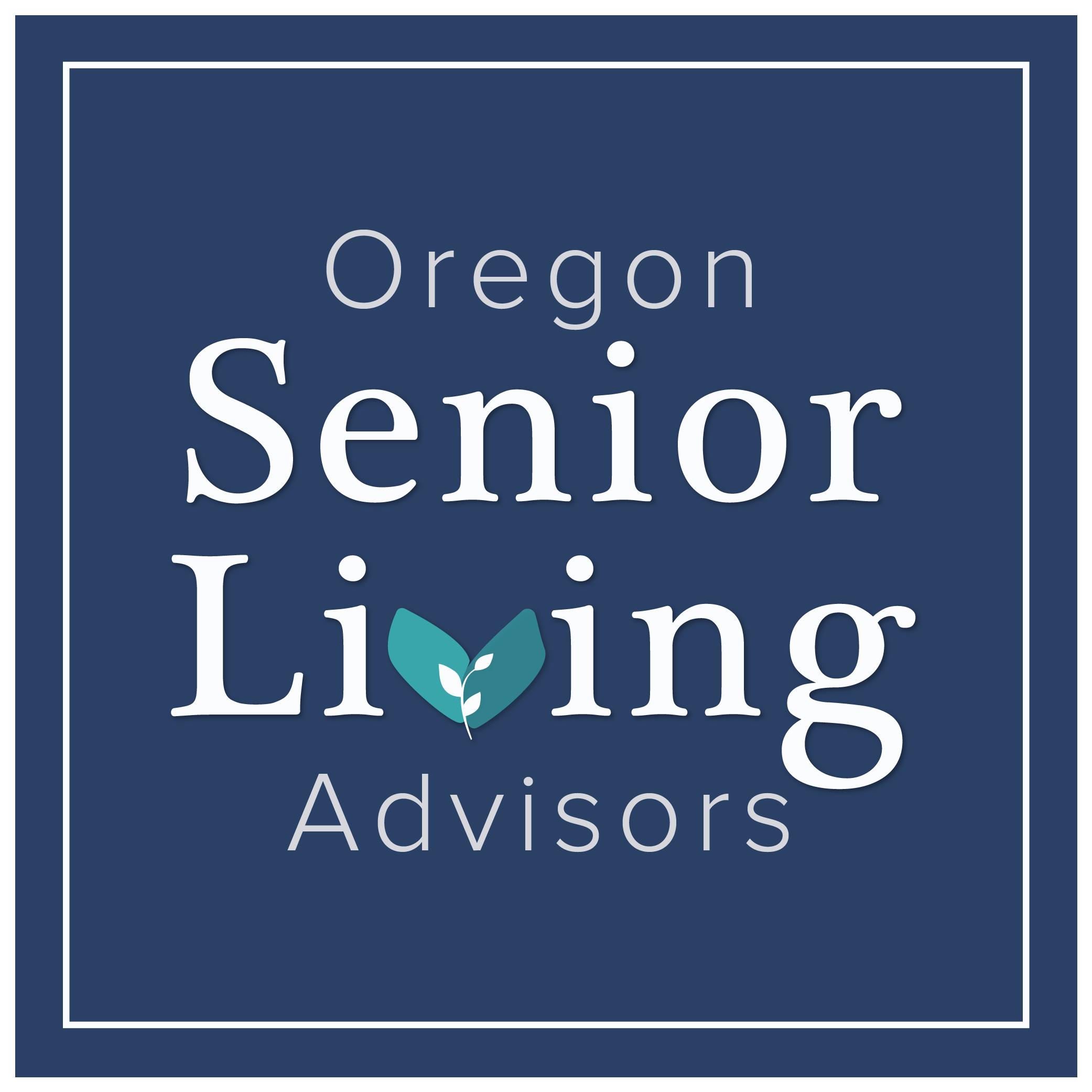 Oregon Senior Living Advisors, Main Logo Design by Brightly & Co.