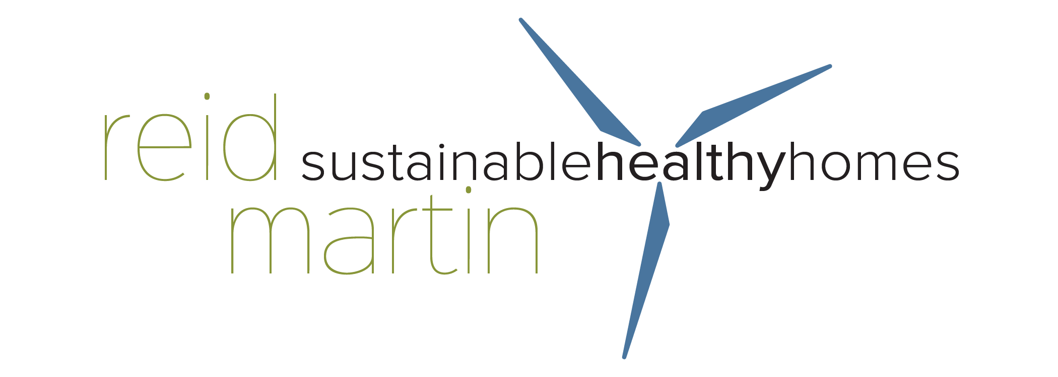 Final Logo Design for Sustainable Healthy Homes, created by: Brightly & Co.