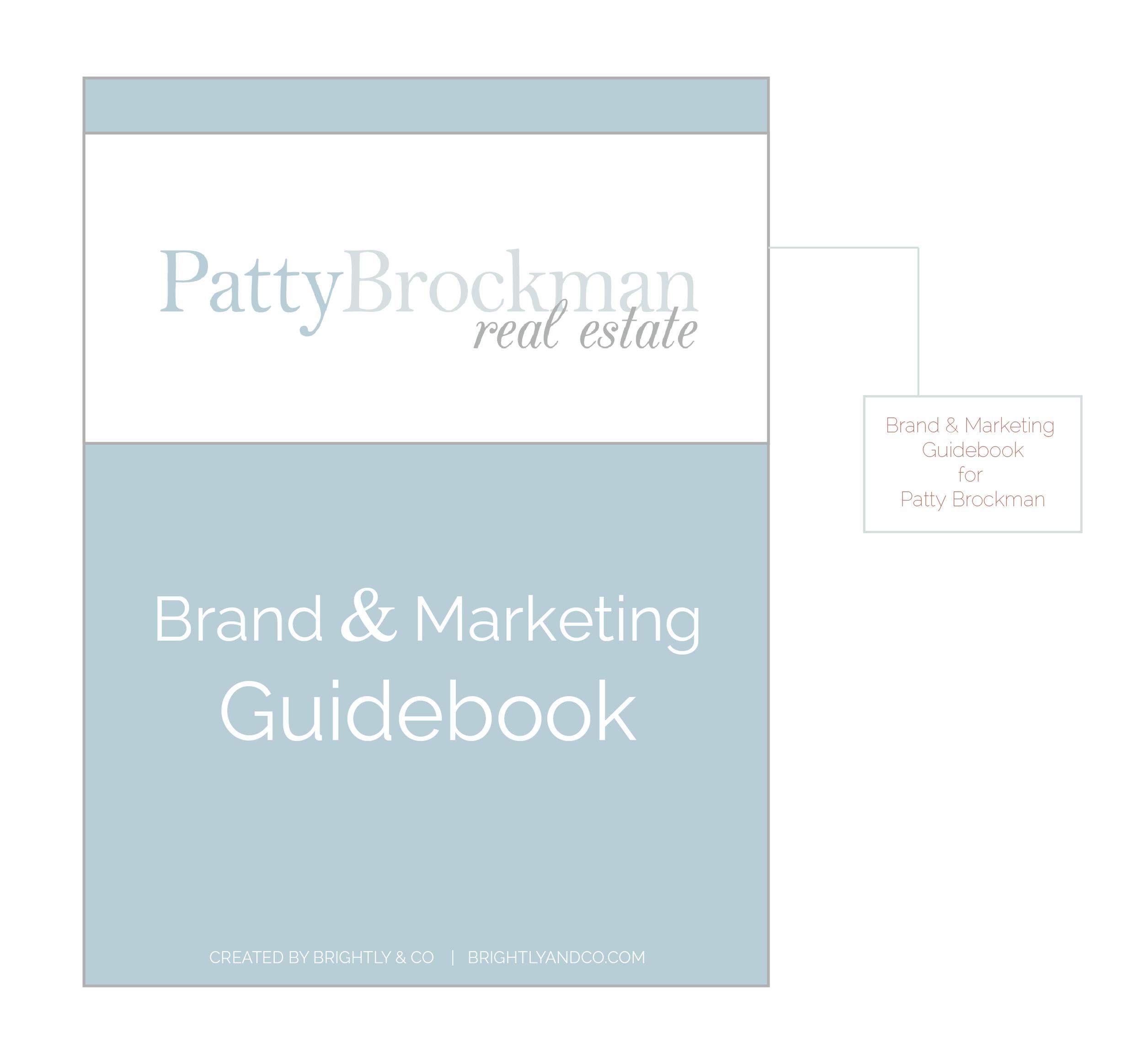 Patty Brockman Real Estate Brand Design by Brightly & Co. | www.BrightlyandCo.com