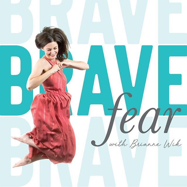 """And... WE'RE BACK! ⠀⠀⠀⠀⠀⠀⠀⠀⠀ ✨Fresh new branding ✨Fresh new episodes ✨Fresh new faces ✨Fresh new segments ⠀⠀⠀⠀⠀⠀⠀⠀⠀ The Brave Fear Podcast is back and it's better than ever. 😉 ⠀⠀⠀⠀⠀⠀⠀⠀⠀ The intro episode is currently up to briefly explain some of the new changes... ⠀⠀⠀⠀⠀⠀⠀⠀⠀ Including: 👉My new podcast producer/editor (and super cute hubby extraordinaire - Bradley Wik) 👉Becoming a WEEKLY podcast (instead of Bi-Weekly) 👉New segments and games to infuse a little more fun into the mix ⠀⠀⠀⠀⠀⠀⠀⠀⠀ If you're anything like me, it's really hard to keep up with podcasts. So every 4-5 months I'll be taking a quick """"vacation"""" from podcasting to re-evaluate, revamp, and re-energize so that I'm always giving you the best content. ⠀⠀⠀⠀⠀⠀⠀⠀⠀ These past few months off have been a huge relief. I was able to really think about the podcast and what I wanted to give you, we moved across the country from Oregon to NC (more on that in an upcoming episode), and I was able to do this AWESOME branding refresh. ⠀⠀⠀⠀⠀⠀⠀⠀⠀ ✨Go to BraveFear.com to listen and read more. ✨Go to iTunes, Spotify or Stitcher to catch up on the latest episode [link in profile] ✨Subscribe, tell your friends and leave a review! ⠀⠀⠀⠀⠀⠀⠀⠀⠀ The intro episode is up and ready!"""