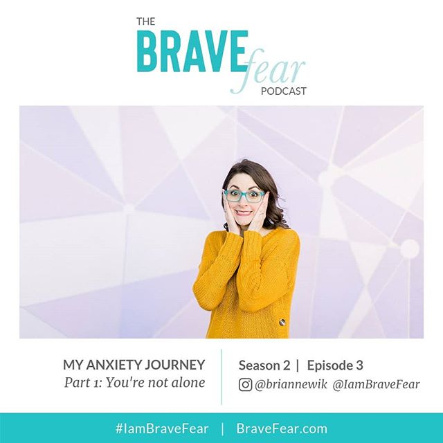 🎉NEW EPISODE ALERT! In this episode, I talk about my struggle with anxiety and panic disorder, which I've had since the age of 6. ⠀⠀⠀⠀⠀⠀⠀⠀⠀ I discuss the feelings of isolation and shame that can come along with anxiety and panic, things you should not say to someone who is struggling and shares a funny story illustrating why you should not try to suffer in silence and instead take the Brave Fear action of being honest about your anxiety/panic to those around you. ⠀⠀⠀⠀⠀⠀⠀⠀⠀ Tune in to listen on iTunes, Spotify & Stitcher. ⠀⠀⠀⠀⠀⠀⠀⠀⠀ For references and links head to my blog [link in profile] at BrightlyandCo.com/blog ⠀⠀⠀⠀⠀⠀⠀⠀⠀ I'd really love to know your thoughts about this episode, be sure to come back here to comment and share this episode with friends, family and anyone who may need to hear it. ⠀⠀⠀⠀⠀⠀⠀⠀⠀ And don't forget: YOU ARE BRAVE FEAR ⠀⠀⠀⠀⠀⠀⠀⠀⠀ Use the hashtag #IamBraveFear to help spread the word.