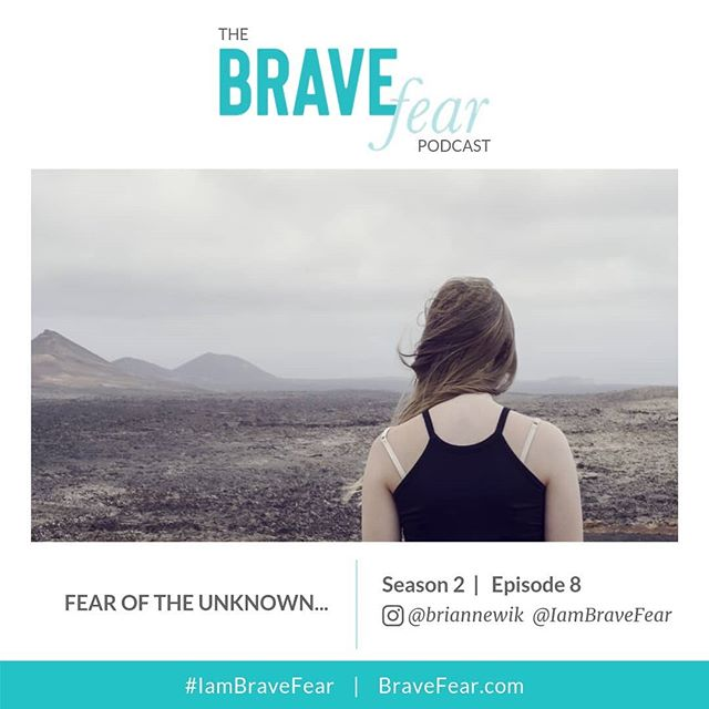 """NEW EPISODE ALERT! ⠀⠀⠀⠀⠀⠀⠀⠀⠀ This week, I dive into the Fear of the Unknown, some excuses we tell ourselves to avoid venturing into the """"uncomfortable unknown,"""" and give us a new way to think about/personify fear itself. ⠀⠀⠀⠀⠀⠀⠀⠀⠀ 𝗛𝗲𝗿𝗲 𝗮𝗿𝗲 𝗮 𝗳𝗲𝘄 𝗵𝗶𝗴𝗵𝗹𝗶𝗴𝗵𝘁𝘀: ⠀⠀⠀⠀⠀⠀⠀⠀⠀ 📌Everyone experiences the Fear of the Unknown, and that's OK, but we far too often let it stop us from pursuing those magical, someday ideas. ⠀⠀⠀⠀⠀⠀⠀⠀⠀ 📌Fear is not an enemy to be fought or an obstacle to overcome, it's an essential emotion that is only trying to be helpful. ⠀⠀⠀⠀⠀⠀⠀⠀⠀ 📌Once you can reframe your relationship with fear, it can actually become a helpful guide when you're looking into the unknown. ⠀⠀⠀⠀⠀⠀⠀⠀⠀ 📌Oftentimes, our fear is looking for confirmation from others (who can often be more anxious for us than we are for ourselves) so we feel justified in giving up on a dream. ⠀⠀⠀⠀⠀⠀⠀⠀⠀ Listen in to this latest episode using the link in my profile or go to: BrightlyandCo.com/blog/s2ep8"""