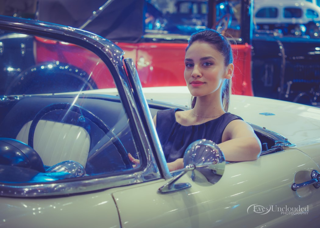 Beautiful girls and vintage cars, always the best combination (shot with the 40-150mm f/2.8)