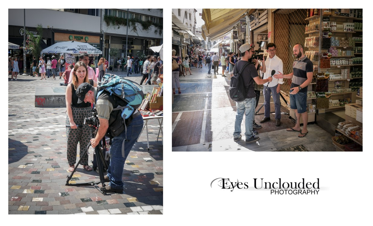 Quite a few photojournalists in Athens those last days...