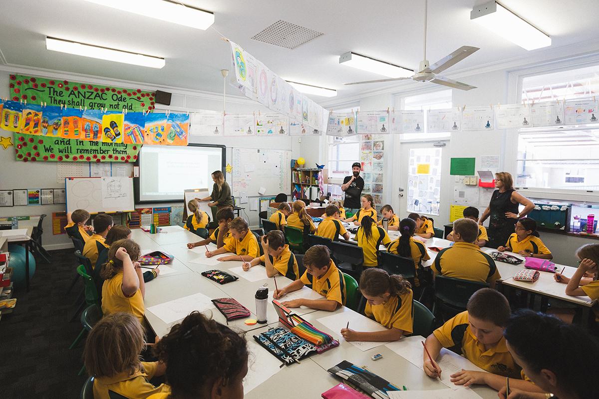 South Bunbury Primary School workshop
