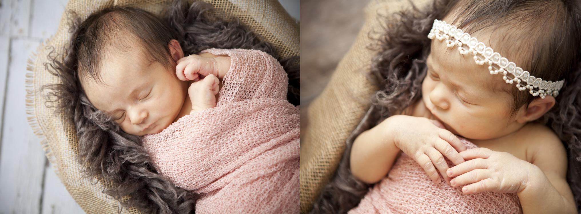 Newborn Girl Photo Lethbridge