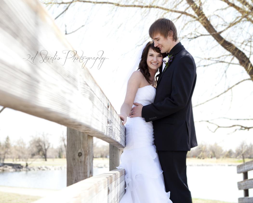 Lethbridge Bride and Groom