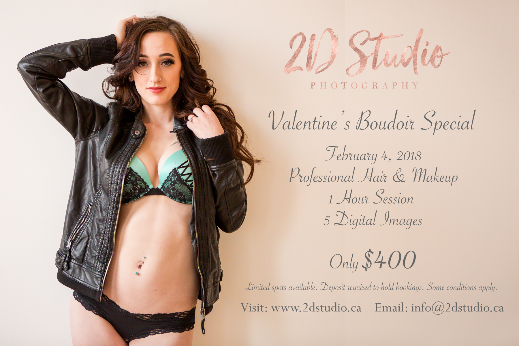 Valentine's Boudoir Special Package
