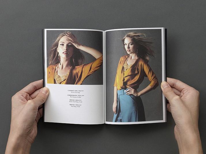 The 9th Muse Brandbook Layout