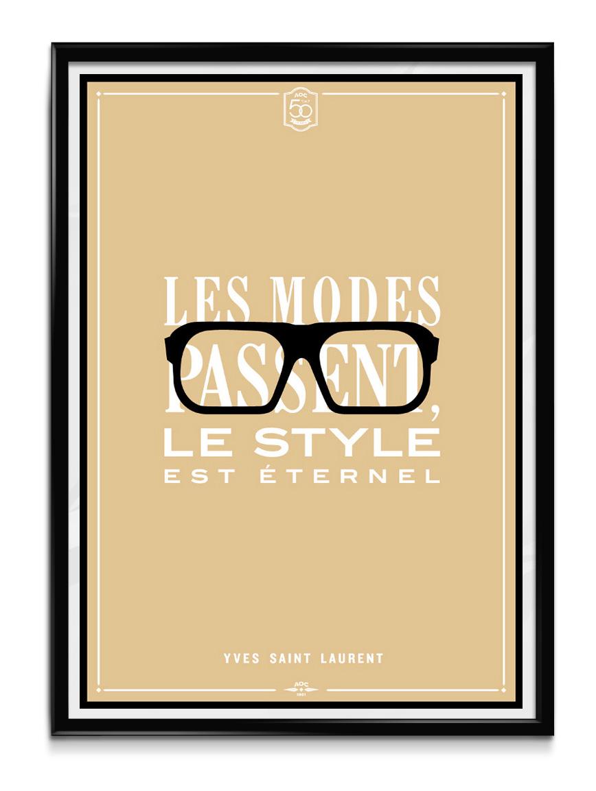 AOC Poster YSL