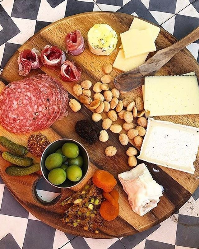 Thanks for the shout out @infatuation_la and featuring our cheese & charcuterie boards.  See you on the patio!  #ojai #patio #winebar