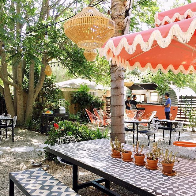 Labor day weekend starts today!  Join us for empanadas, wine & beer on the patio from 2-8...#ojai #winebar #patio