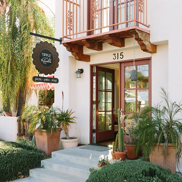 Happy September friends!  We are ready for an amazing labor day weekend.  And as an added bonus we will be open Monday! #winebar #ojai #patio