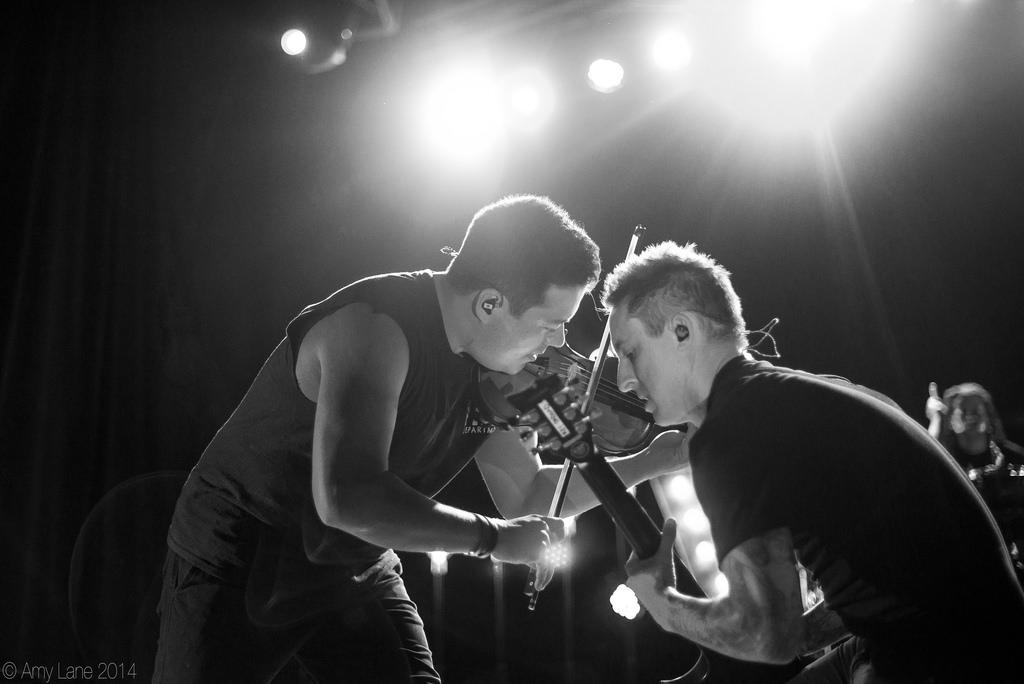 Sean Mackin and Ryan Key of Yellowcard | 01.17.14