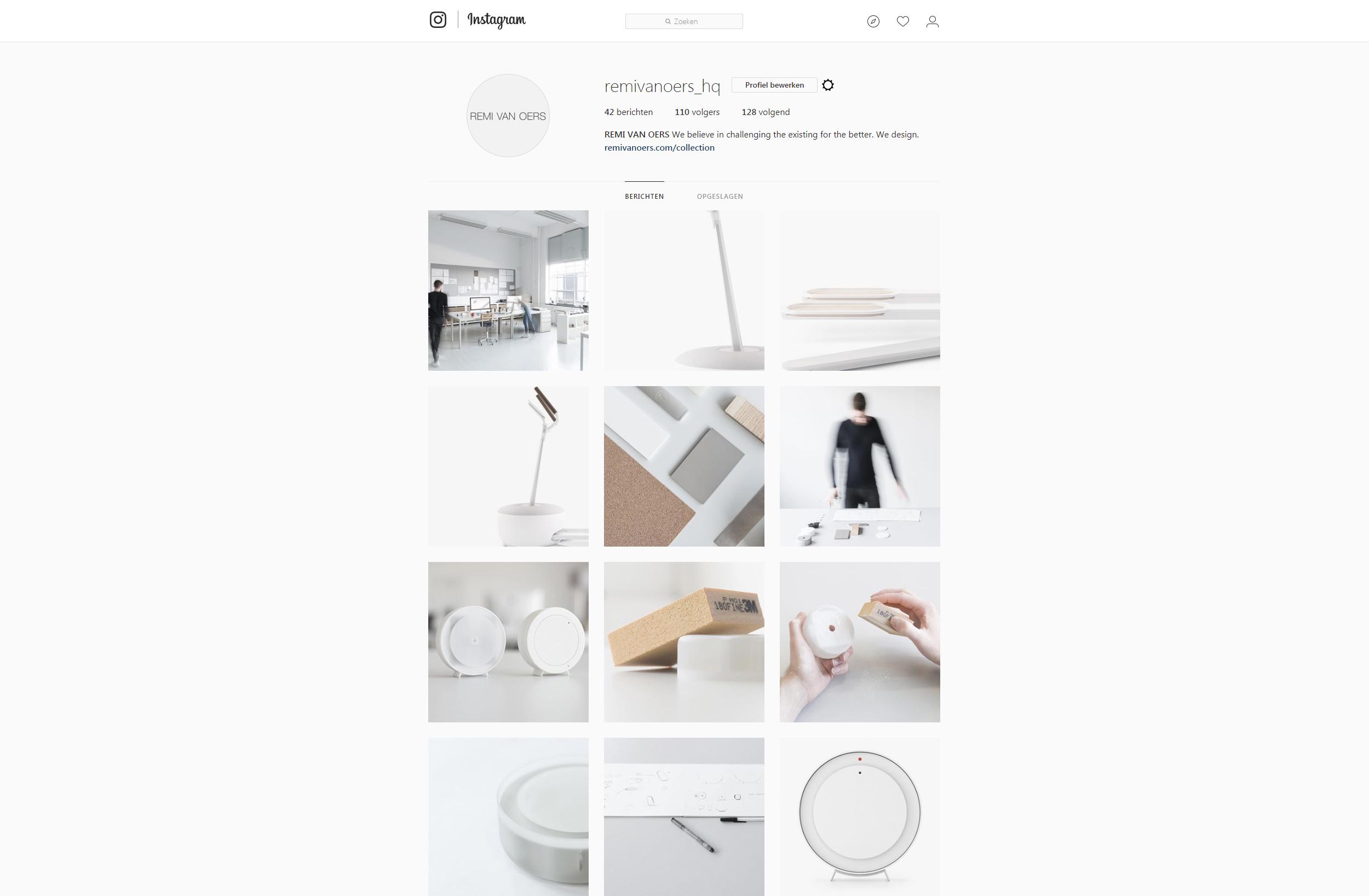 Design studio instagram
