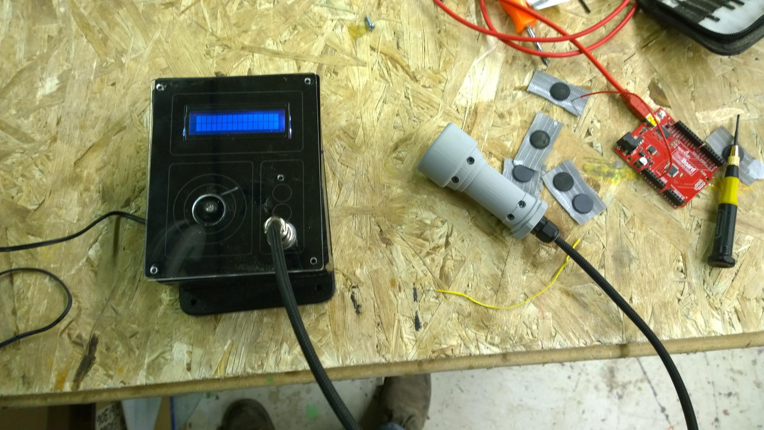 Diagnostic RFID reader