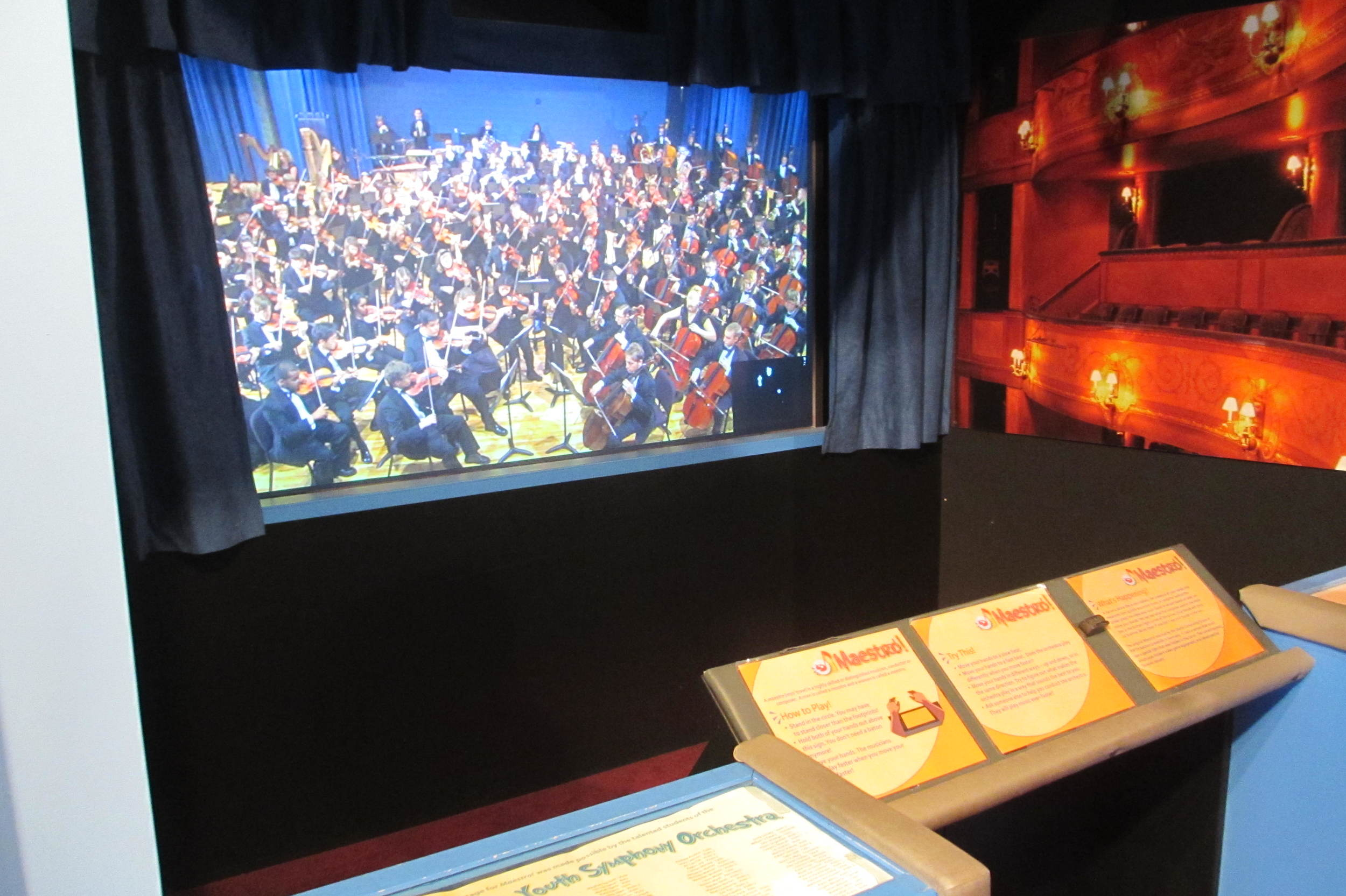 Maestro as it was installed at the Betty Brinn Children's Museum