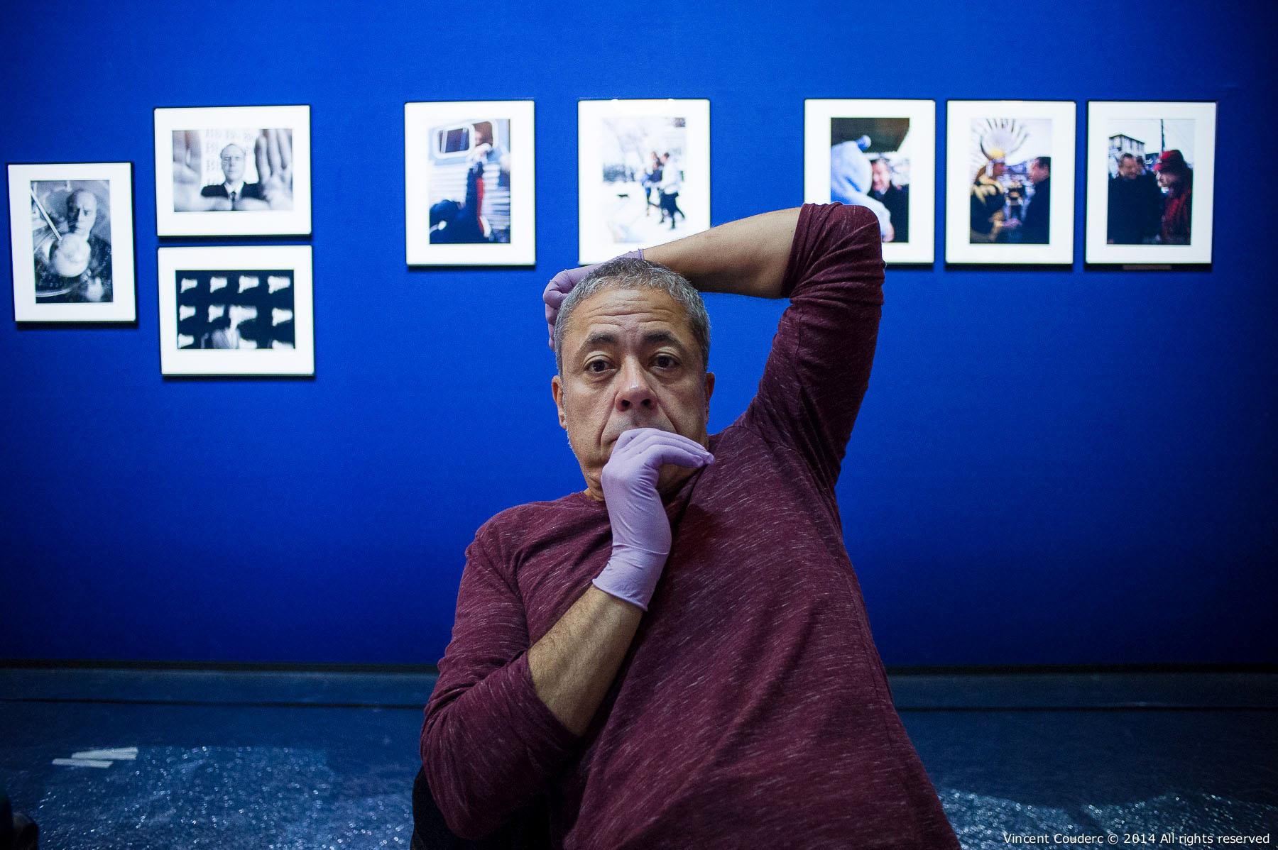 François Cheval,commissaire d'exposition  Exposition sur le travail du photographe Henri Dauman Palais d'Iéna,Paris, 2014.   www.manhattan-darkroom.com