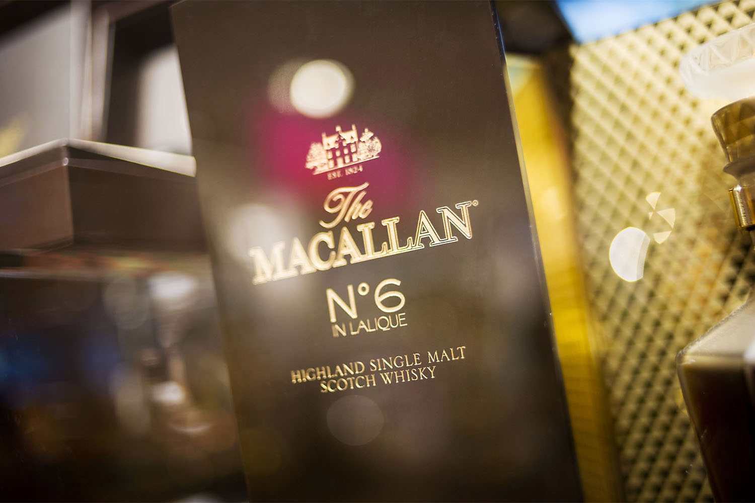 The Macallan  Groupe Edrington  Terminal LSM4 Roissy Charles de Gaulle